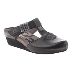 Women's OTBT Streams Slip-on Black Leather