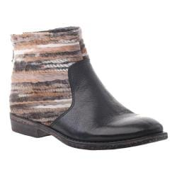 Women's OTBT Tilton Bootie Lead Leather/Fabric