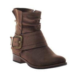 Women's Madeline Bless You Too Ankle Boot Rich Brown Synthetic