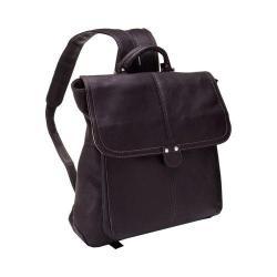 Women's LeDonne Saddle Backpack LD-9842 Cafe