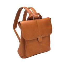 Women's LeDonne Saddle Backpack LD-9842 Tan