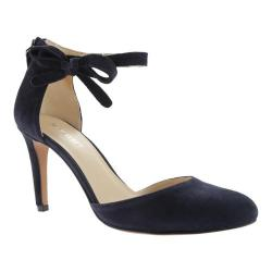 Women's Nine West Howley Quarter Strap Navy Suede