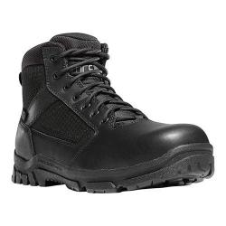 Men's Danner Lookout Side-Zip NMT 5.5in Work Boot Black Leather