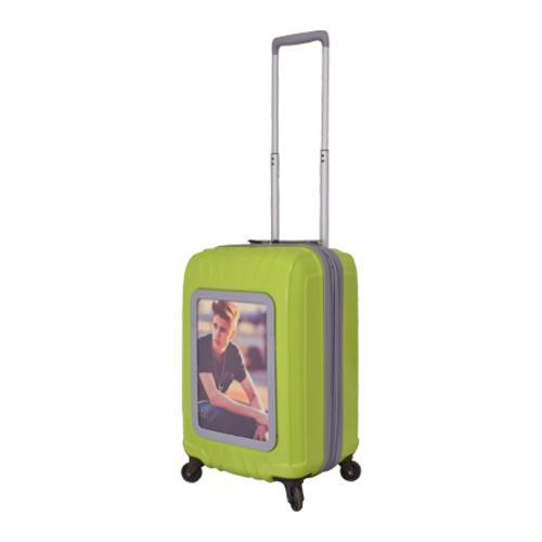 Selfie Club 'Picture Frame' Lime 20-inch Carry On Hardsid...