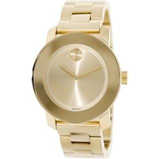 Movado Women's Bold 3600085 Goldtone Stainless Steel Watch