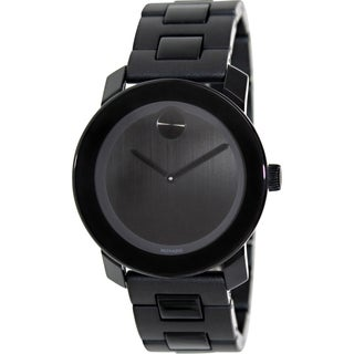 Movado Men's Bold 3600047 Black Polyurethane Swiss Quartz Watch