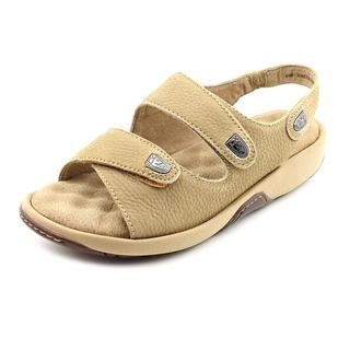 Softwalk Women's 'Bolivia' Nubuck Sandals - Wide (Size 6 )