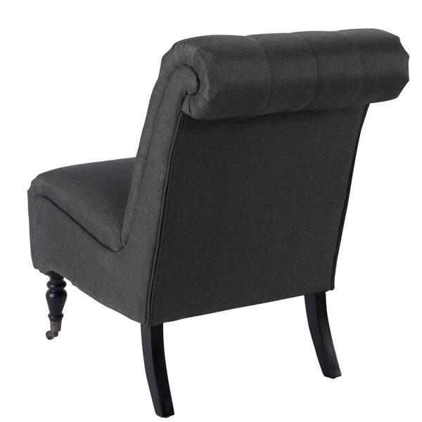 Miraculous Shop Copper Grove Hincesti Button Tufted Grey Fabric Accent Machost Co Dining Chair Design Ideas Machostcouk