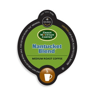 Green Mountain Coffee Nantucket Blend, Vue Cup Portion Pack for Keurig Vue Brewing Systems
