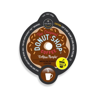 The Original Donut Shop Regular Coffee Travel Mug, Vue Cup Portion Pack for Keurig Vue Brewing Syste