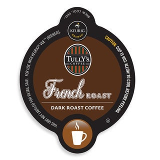 Tully's French Roast Coffee, Vue Cup Portion Pack for Keurig Vue Brewing Systems