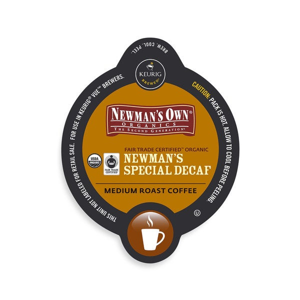 Superb Newmans Own Newmans Special Blend Decaf Coffee Vue Cup Portion Pack For Keurig Vue Brewing System Machost Co Dining Chair Design Ideas Machostcouk
