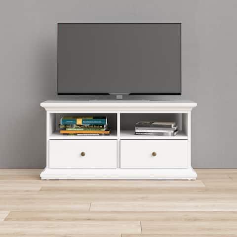 Porch & Den Virginia 41-inch White TV Stand