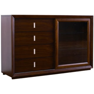 Landon Walnut 4-drawer Buffet