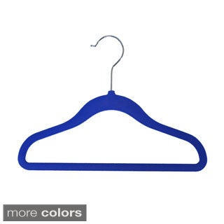 Achim Velvet Anti-Slip Kids Hangers (Pack of 10)
