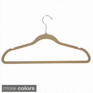 Velvet Anti-Slip Hangers (Pack of 10)