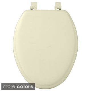 Achim Fantasia Soft Elongated Vinyl Toilet Seat