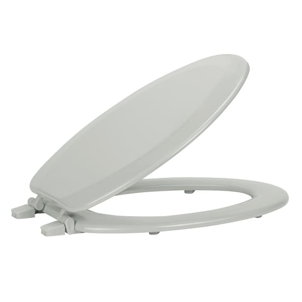 Shop Fantasia 19 Inch Elongated Wood Toilet Seat Free
