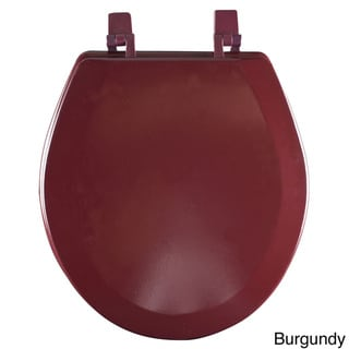 Fantasia Standard 17-inch Wood Toilet Seat