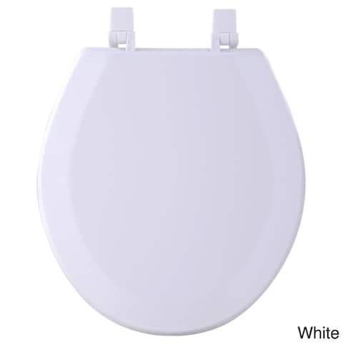Achim Fantasia Wood 17-inch Standard Toilet Seat