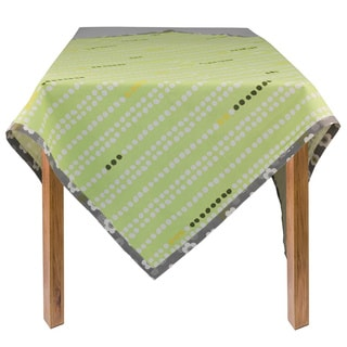 Green Dots Organic Cotton Rectangle Tablecloth