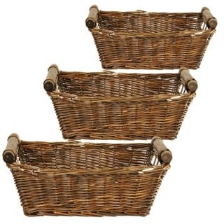 Wald Imports 13-inch Willow Tray