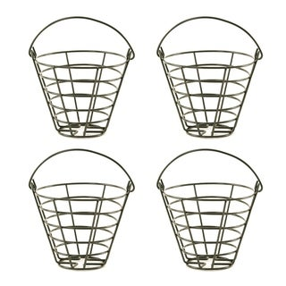 Wald Imports Metal Golf Bucket (Set of 4)