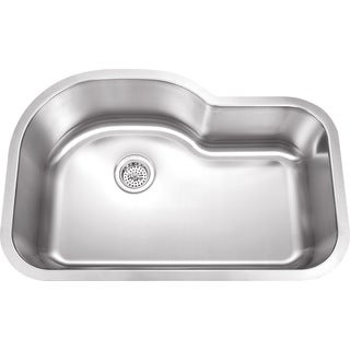 Wells Sinkware SSU3221-9 18-gauge Undermount Single-bowl Stainless Steel Kitchen Sink
