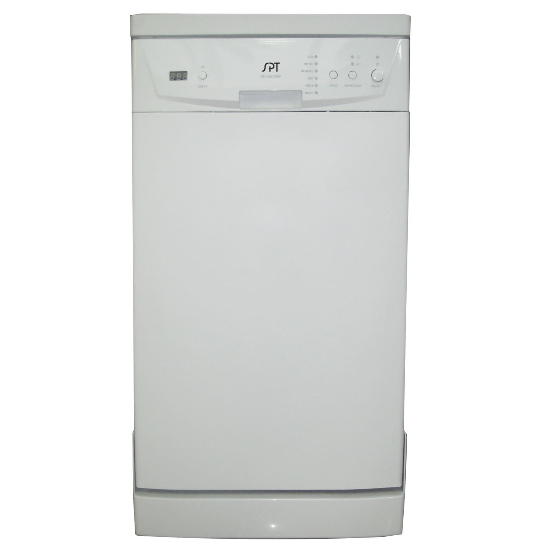 Sunpentown SPT SD-9241W White 18-Inch Portable Dishwasher...