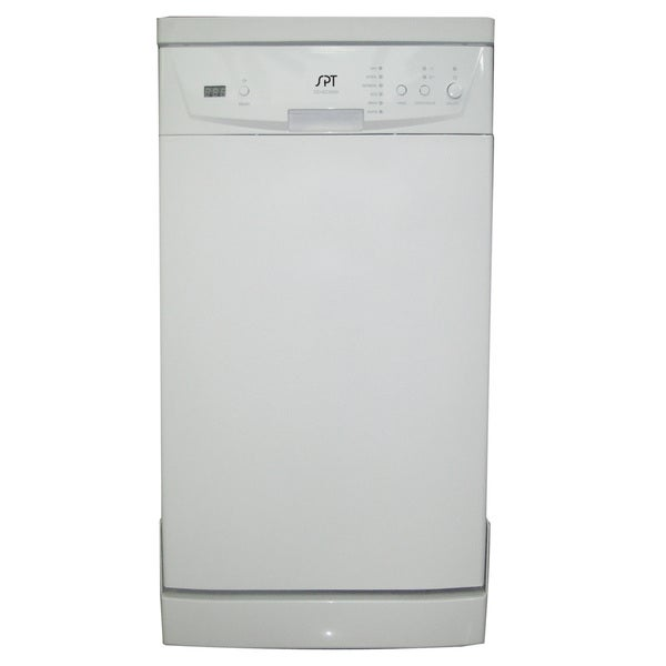 Spt Sd 9241w White 18 Inch Portable Dishwasher With Energy Star Overstock 9305514