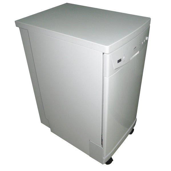 SPT SD 9241W White 18 Inch Portable Dishwasher With Energy Star   Free  Shipping Today   Overstock.com   16466838