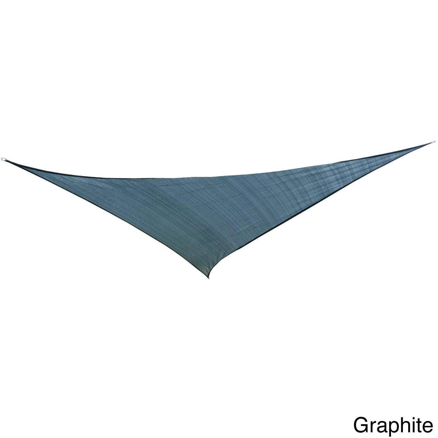 Cool Area Oversized Triangle Sun Shade Sail (16'5) with S...