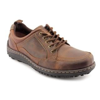 Hush Puppies Men's 'Belfast MT' Leather Casual Shoes - Extra Wide (Size 12 )