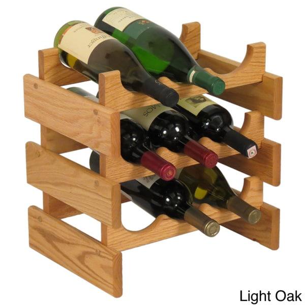 Copper Grove Arapaho 9-bottle Stackable Wooden Wine Rack