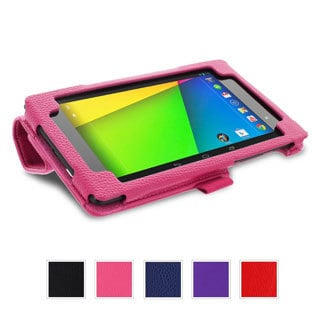 rooCASE Origami Folio Case Cover Stand with Stylus for Google Nexus 7 FHD 2013 (2nd Generation)