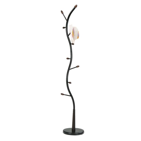 Metal Black Tree Coat Rack