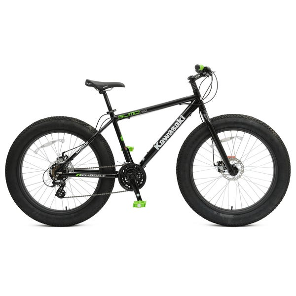 Shop Kawasaki Sumo 4 0 Fat Tire Bicycle Free Shipping