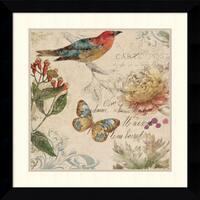 Framed Art Print 'Nature's Rhapsody II' by Aimee Wilson 26 x 26-inch