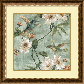 Framed Art Print 'Birds of a Feather II' by Renee Campbell 29 x 29-inch
