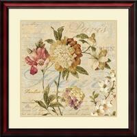 Framed Art Print 'Fleur Paris II' by Deborah Devellier 28 x 28-inch