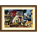 Pablo Picasso 'Paysage Mediterraneen' Framed Art Print