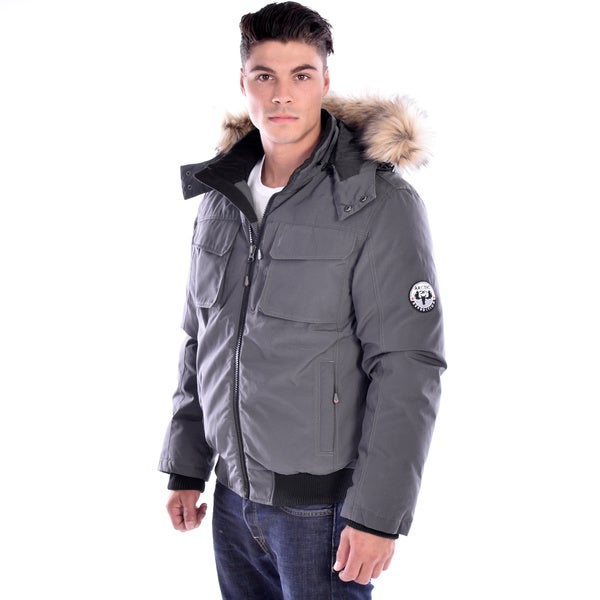 Shop Men s Down-filled Jacket - Free Shipping Today - Overstock ... d66f22ffb4