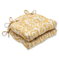 Pillow Perfect Babar Topaz Reversible Chair Pad (Set of 2)