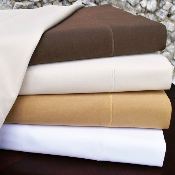 Superior Cotton Merrow Stitched 600 Thread Count Sheet Set