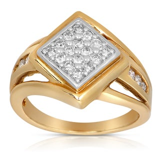 Eloquence 14k Yellow Gold 1/2ct TDW Diamond Fashion Ring (G-H, I1-I3)