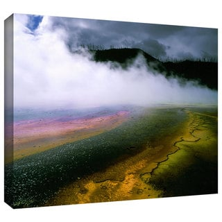 Dean Uhlinger 'Approaching Storm' Gallery-wrapped Canvas