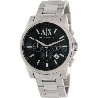 Armani Exchange Men's AX2084 Stainless Steel Quartz Watch|https://ak1.ostkcdn.com/images/products/9306487/P16467833.jpg?impolicy=medium