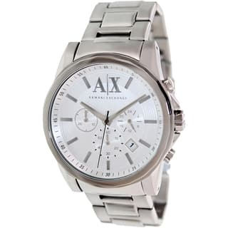Armani Exchange Men's AX2058 Stainless Steel Quartz Watch|https://ak1.ostkcdn.com/images/products/9306488/P16467834.jpg?impolicy=medium