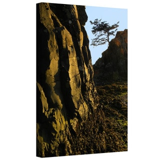 Dean Uhlinger 'Oregon Coast Sunset' Gallery-wrapped Canvas
