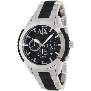 Armani Exchange Men's AX1214 Two-tone Stainless Steel Quartz Watch